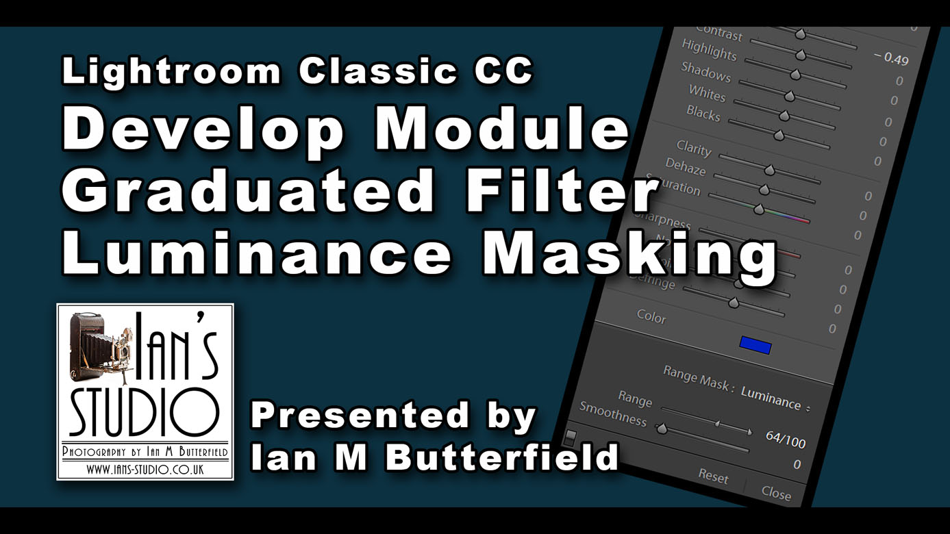 LR/PS TUTORIAL (^): Graduated Filter with luminance mask