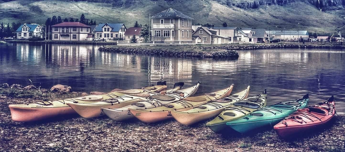 Boats in Sejdisfjordur