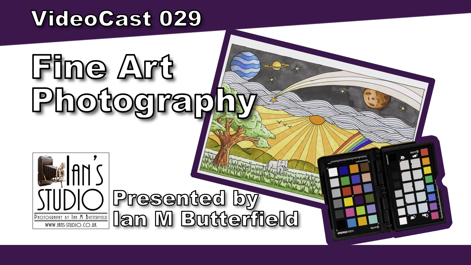 How to photograph Fine Art using a colorchecker passport [VideoCast 029]