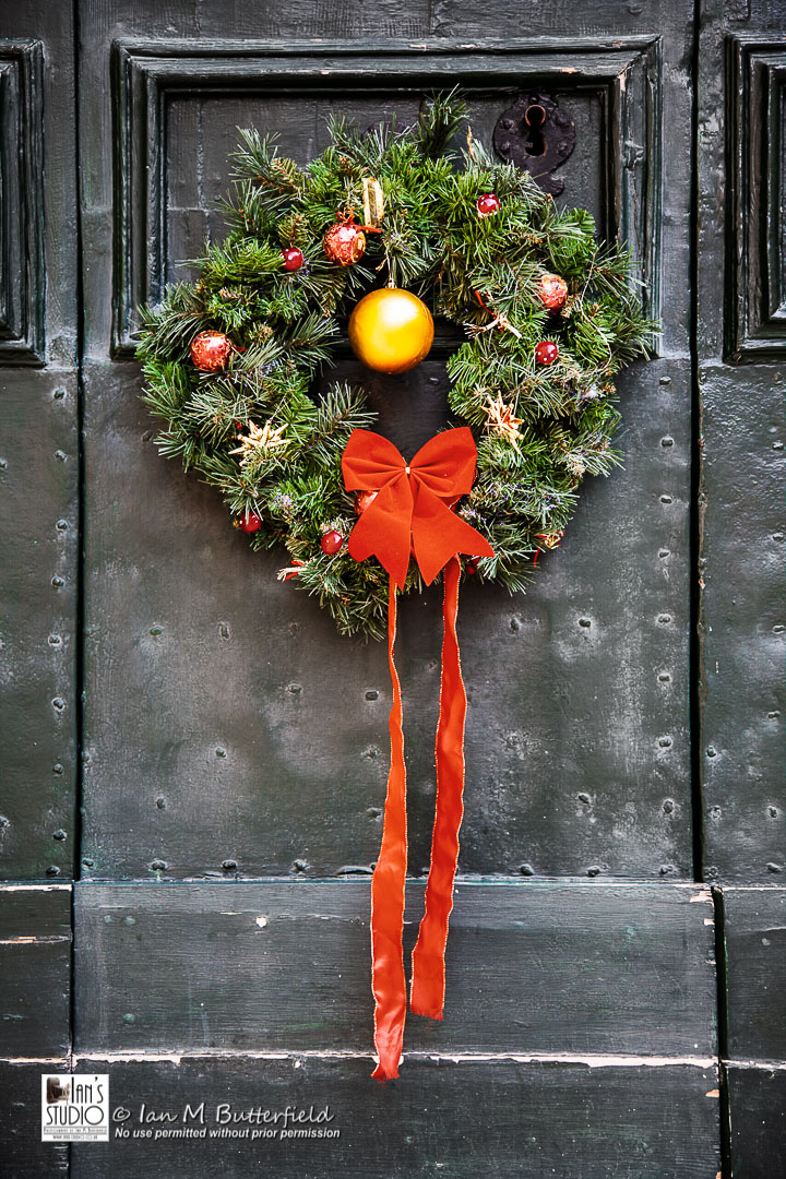 ACADEMY BITE: Christmas Ideas #6 – Maltese Door Wreath