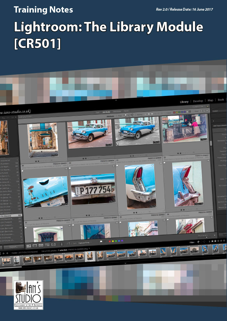 Training Notes: Lightroom – The Library Module