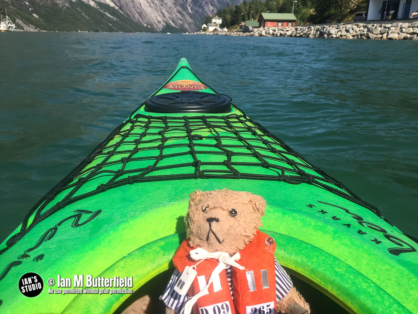 POTD 4 Aug 2019: Kayaking at Eidfjord