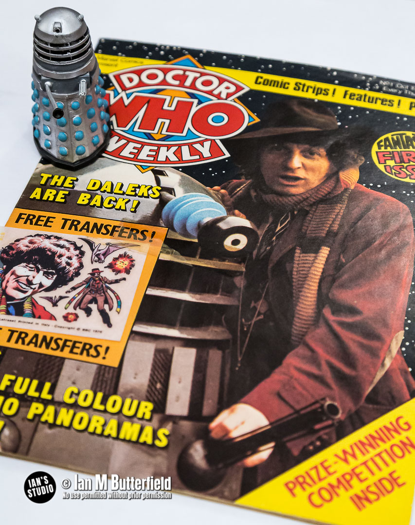 POTD 12 Nov 2020: Lockdown20/8 – Doctor Who Magazine, Issue #1
