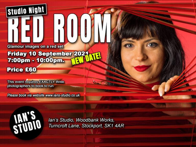 Red Room Studio Night