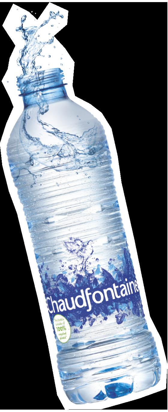 Gratis 500 ml Chaudfontaine Fusion proberen