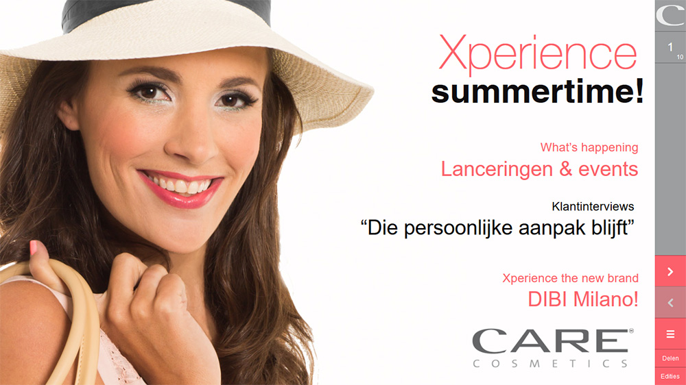 Care Cosmetics e-zine