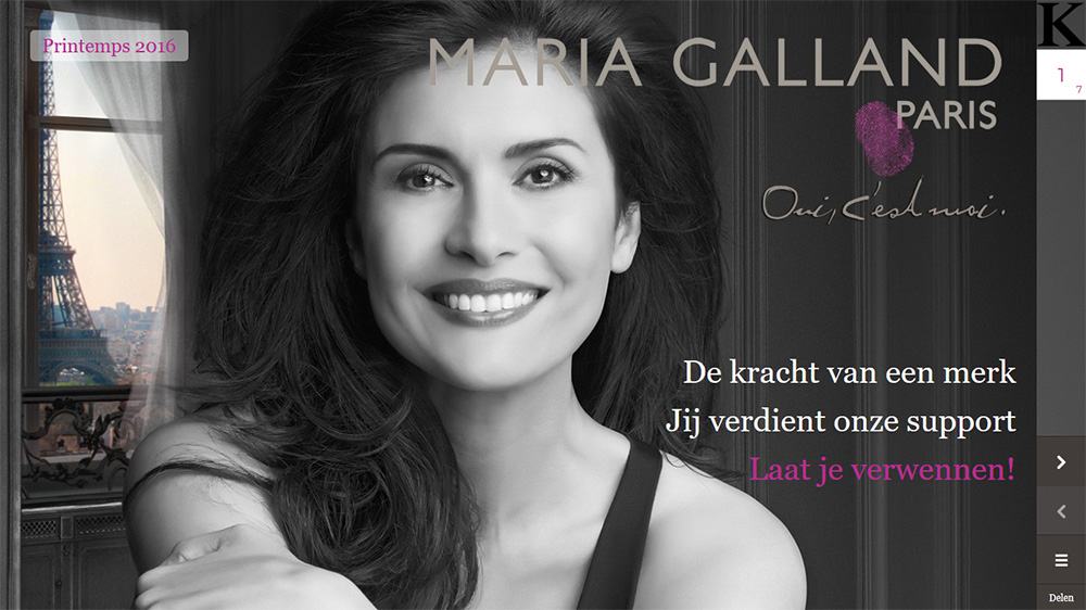 Maria Galland cover