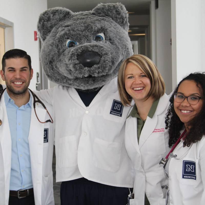 Doctors with Alphie