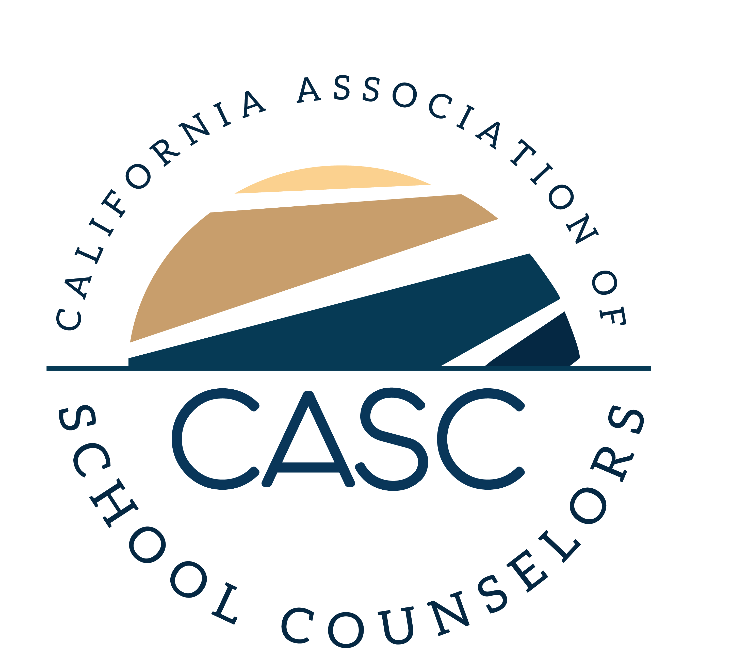 California Association of School Counselors (CASC) logo