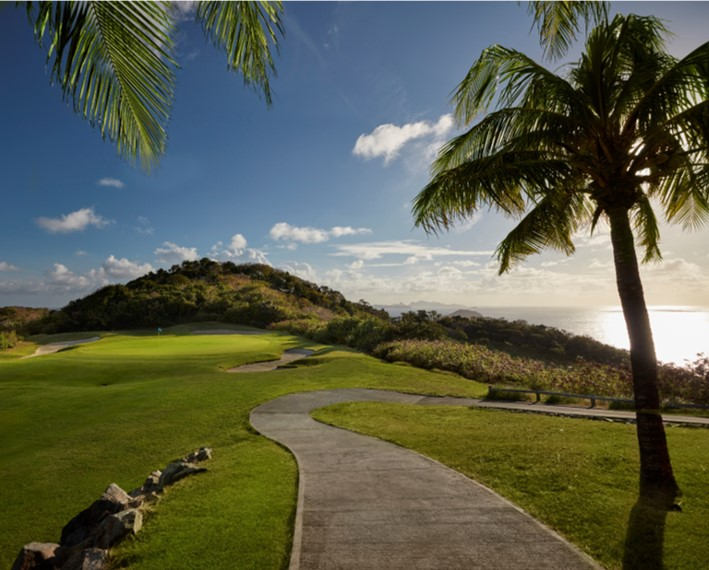 Golf at Mandarin Oriental, Canouan