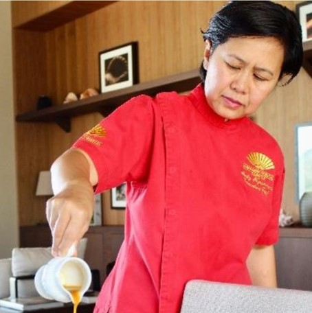 Chef Nonky at Mandarin Oriental, Canouan