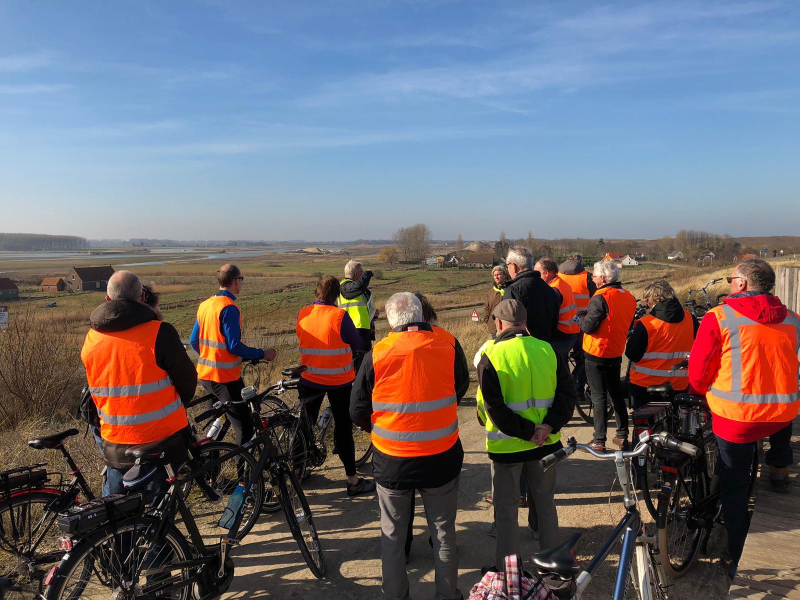 fietsexcursie Waterdunen