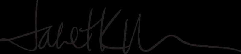 Dr. Janet Morrison's signature