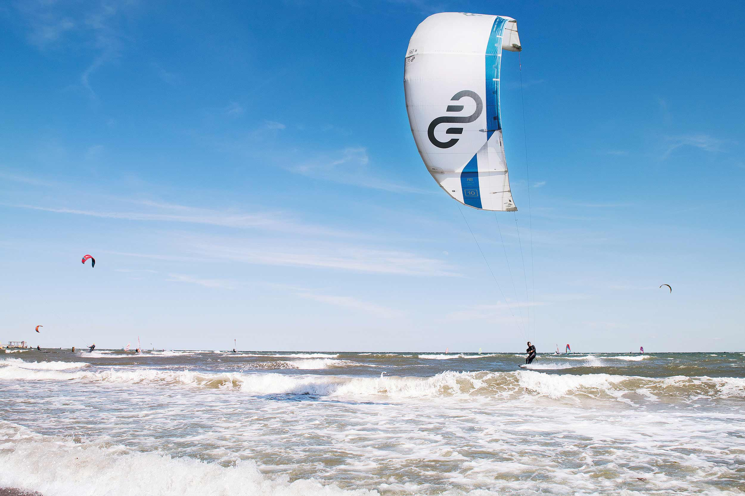 Eleveight RS kite test in Kiteworld Magazine