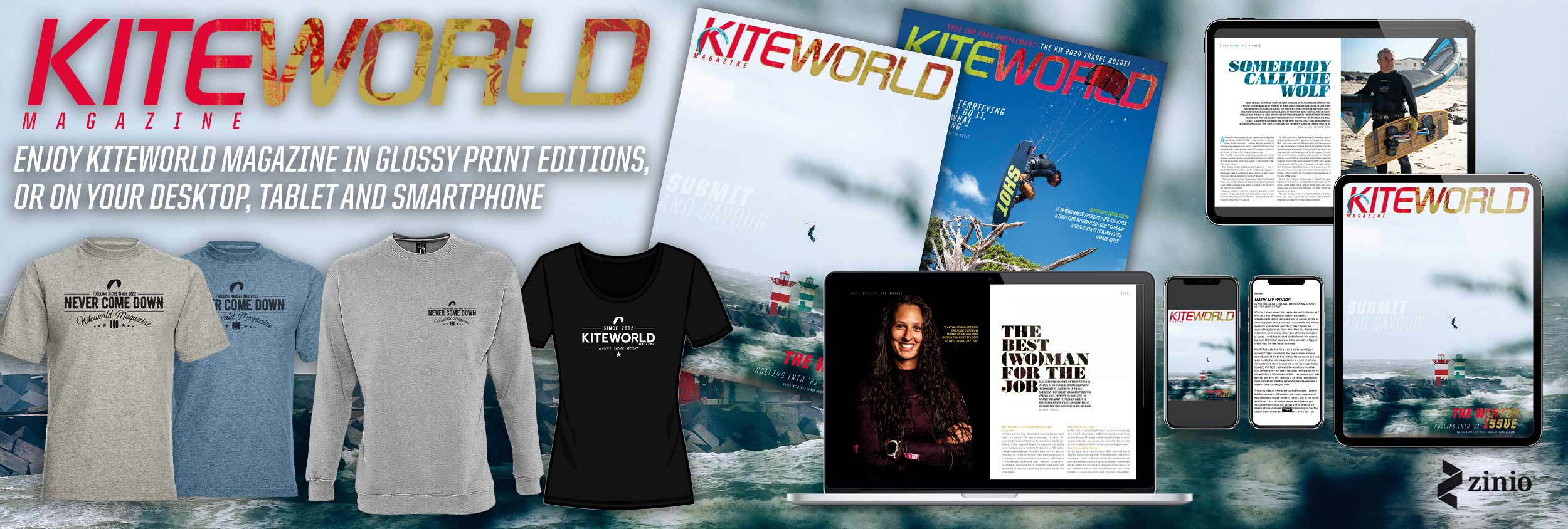 Subscribe to Kiteworld Magazine