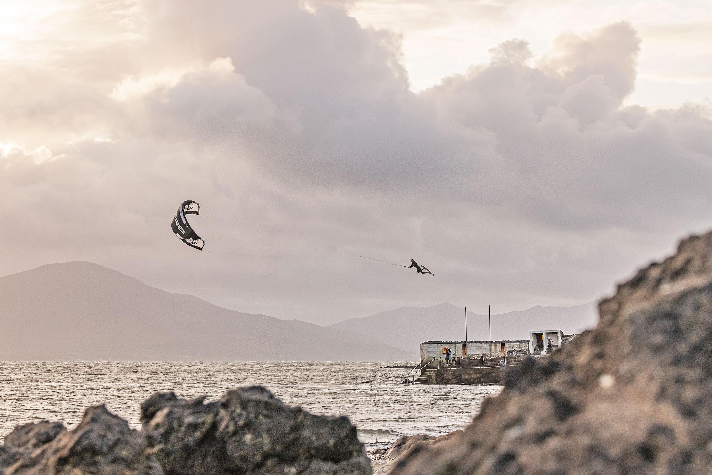 Steven Akkersdijk kiteboarder