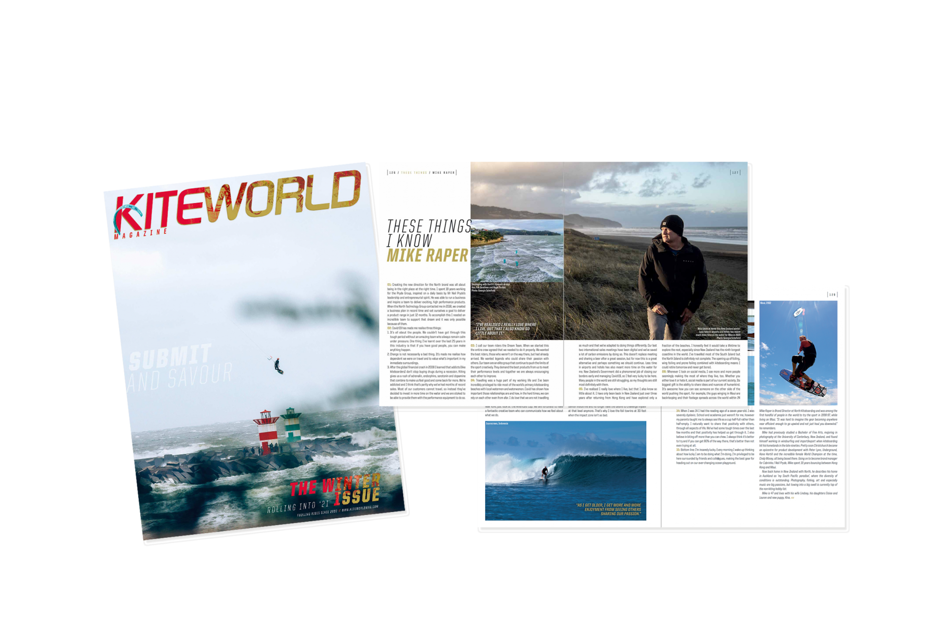 Mike Raper North Kiteboarding Brand Manager interview in Kiteworld