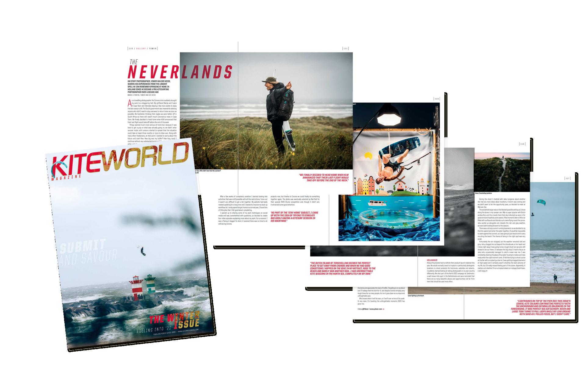 Ydwer van der Heide kitesurfing gallery in Kiteworld