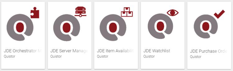 Quistor JDE mobile applications