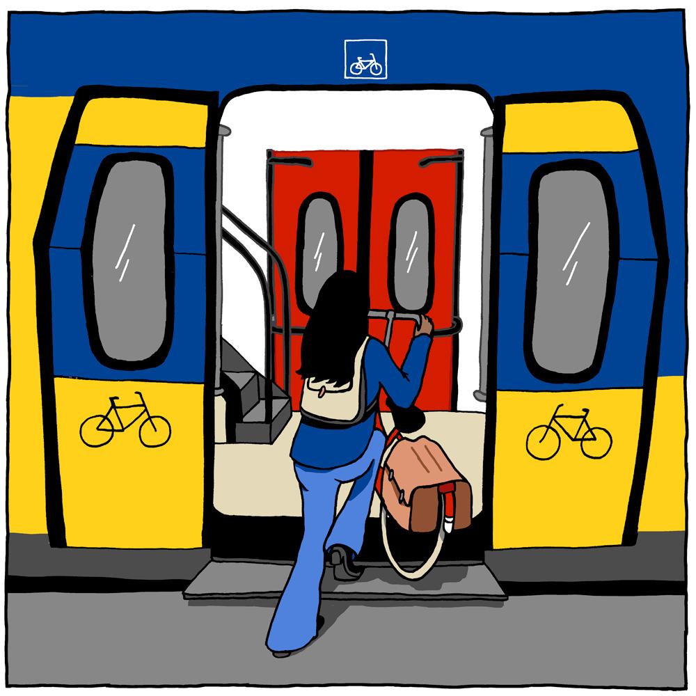 Fiets mee in trein