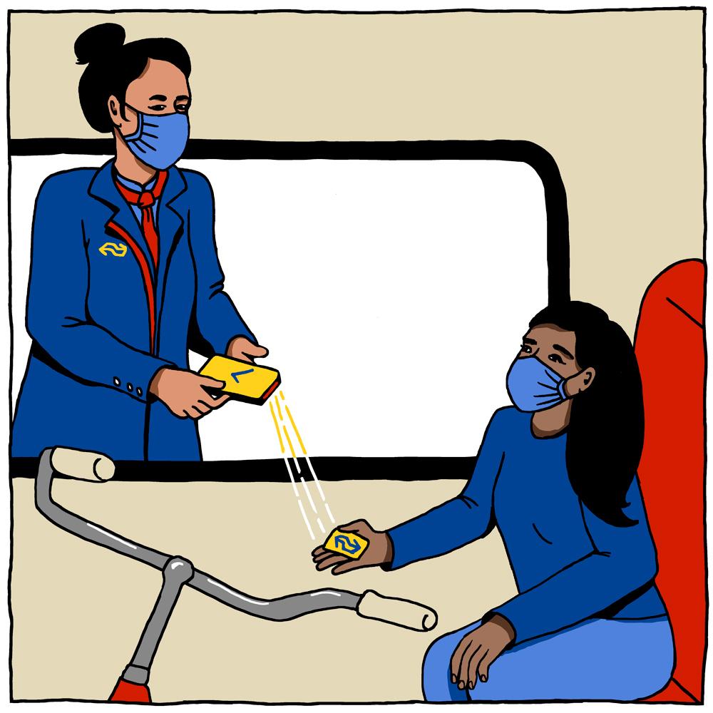 Vervoersbewijs fiets in trein NS