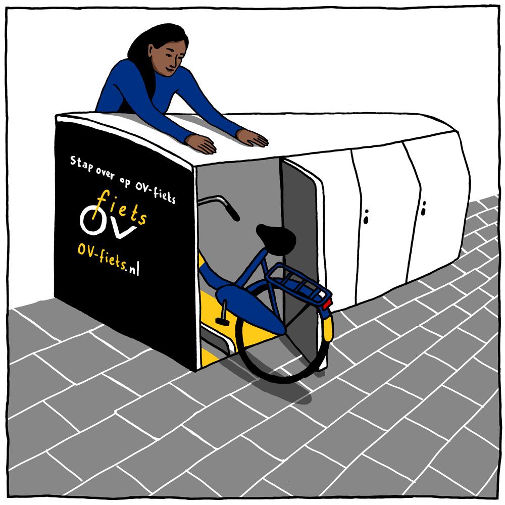 OV-fiets stations