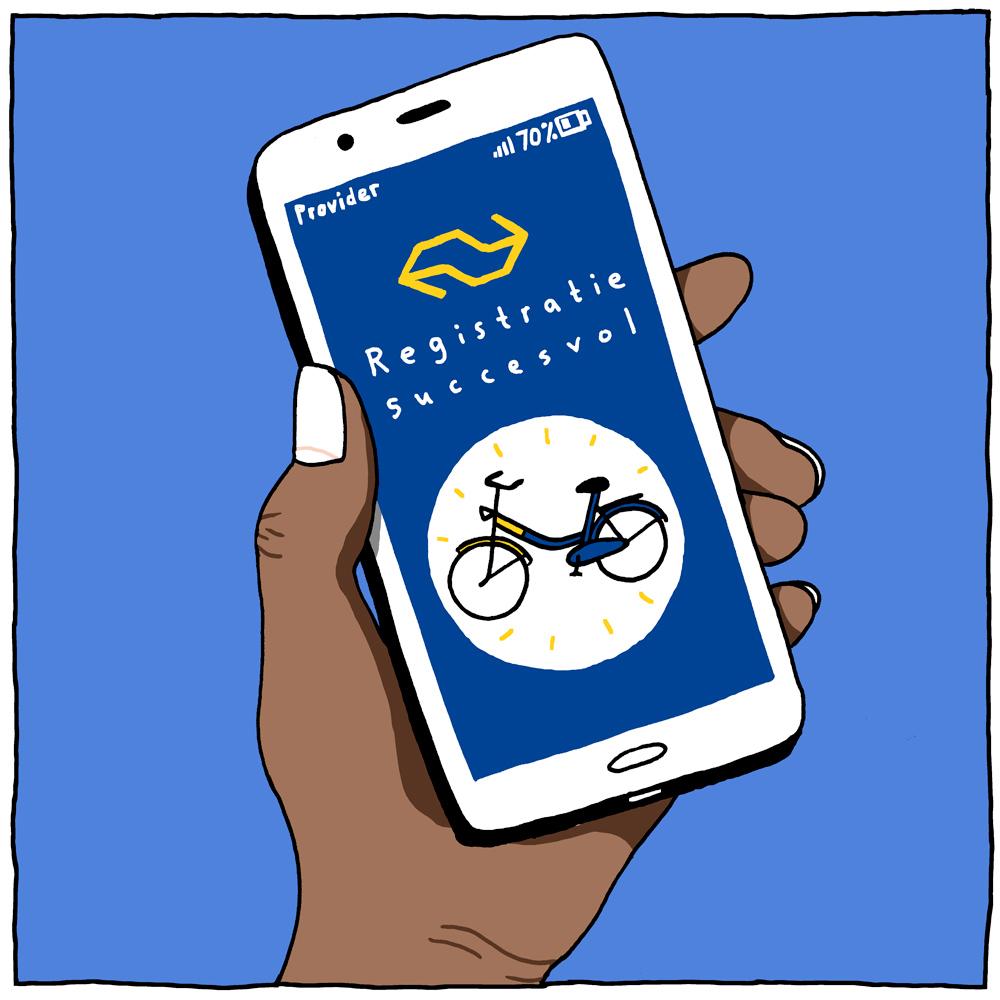 OV-fiets reserveren
