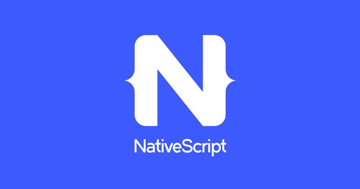 جديد اصدار إطار العمل NativeScript 4
