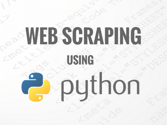 web scraping لمحتويات صفحة ويب باستخدام لغة بايثون