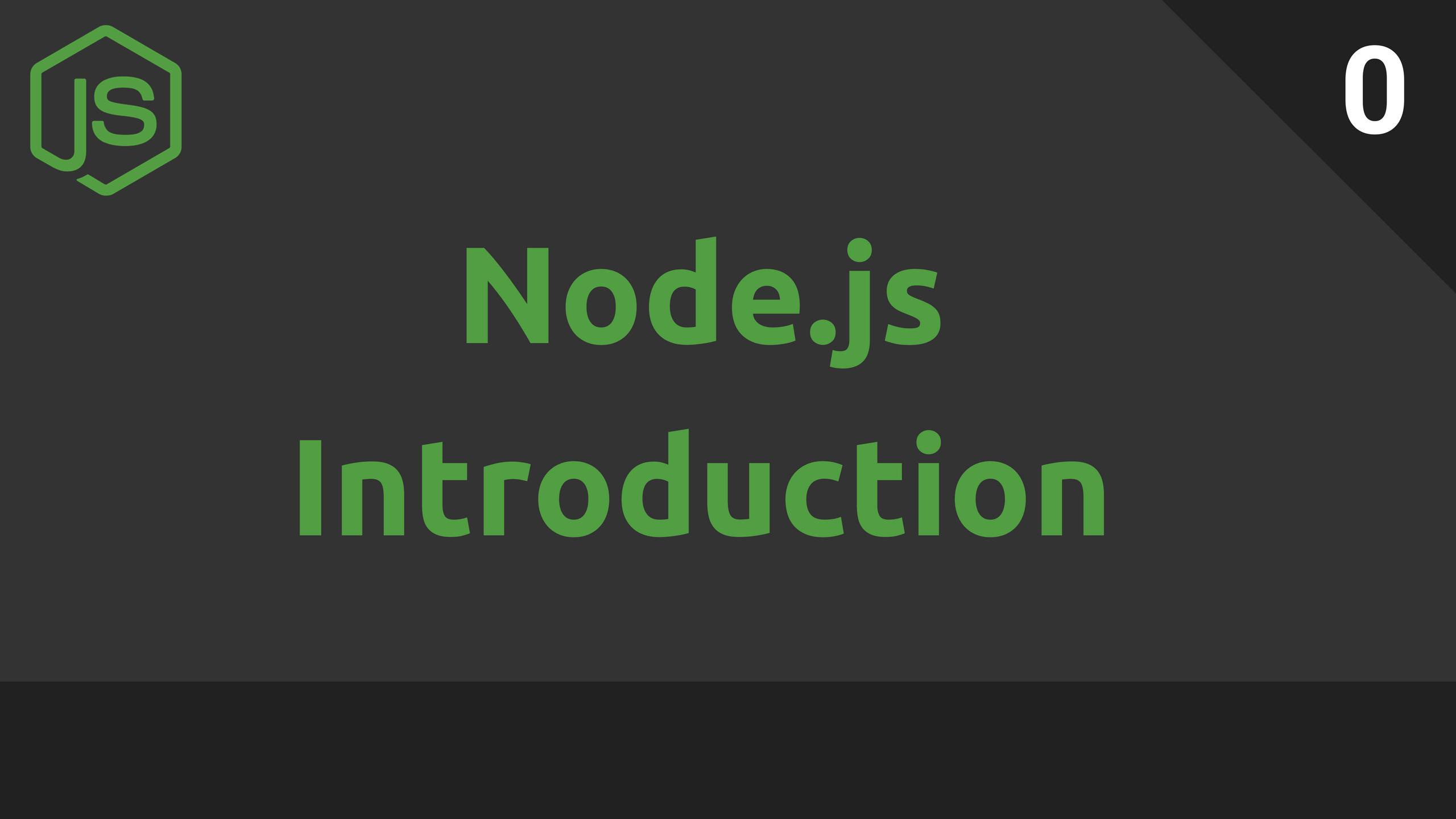 دورة Node.js وإطار العمل Exrpress
