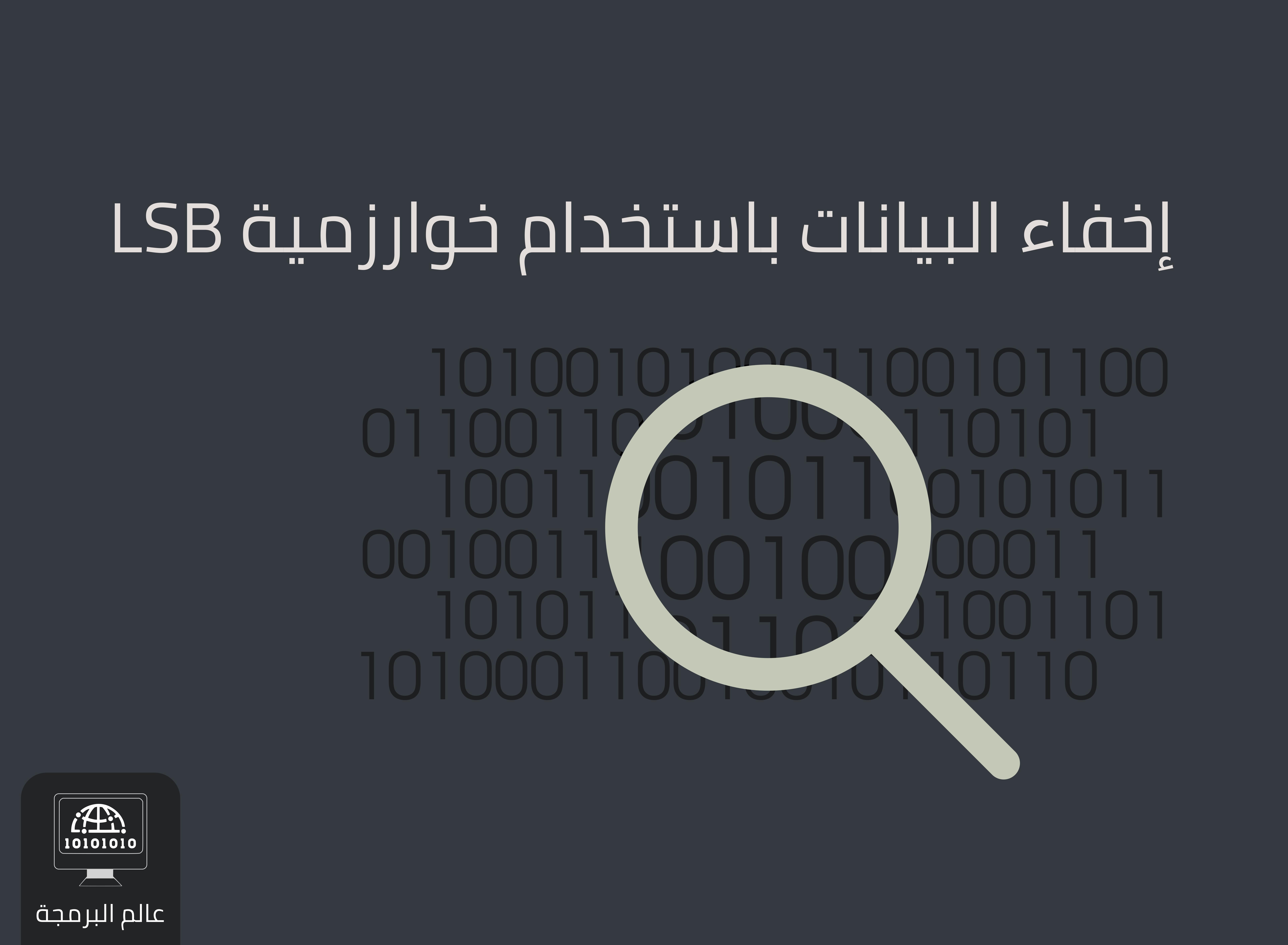 نبذة عن علم إخفاء البيانات وتطبيق خوارزمية LSB باستخدام PHP