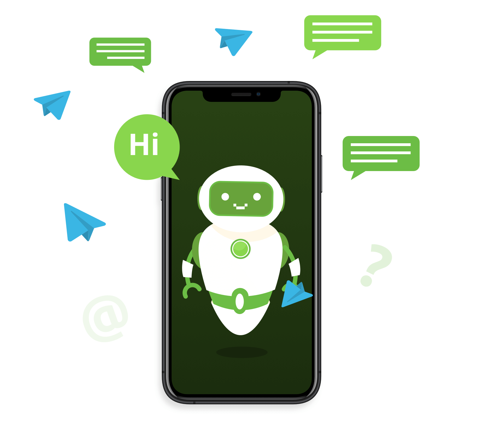 بناء بوت تليجرام