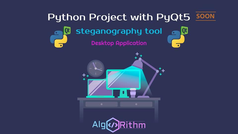 مشروع انشاء تطبيق سطح مكتب باستخدام python3 و PyQt5
