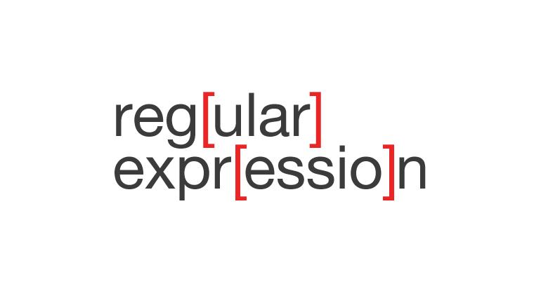 التعابير النمطية Regular Expressions