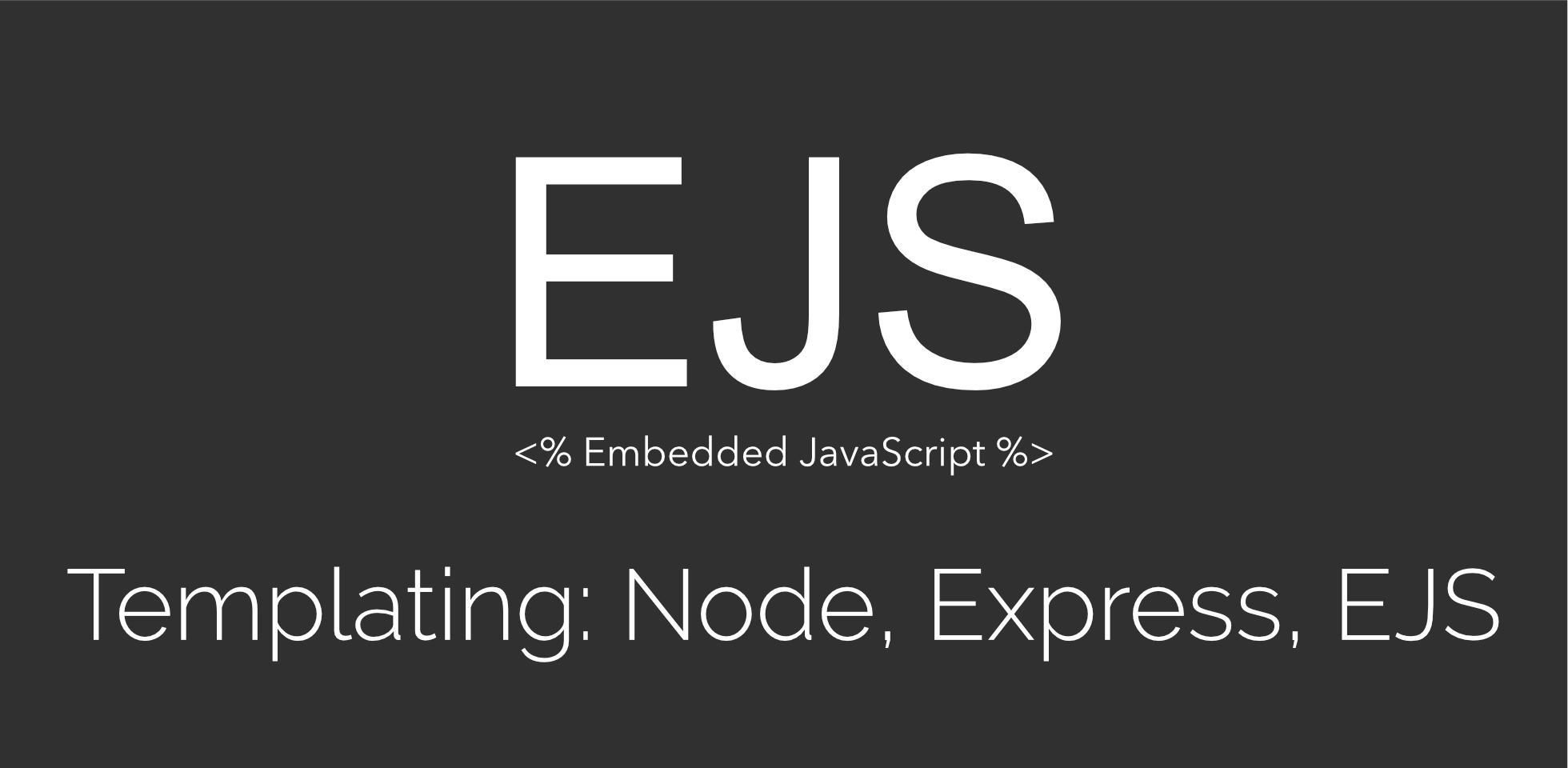 ماهي لغة القوالب ejs وكيفية استخدامها مع اطار العمل Express