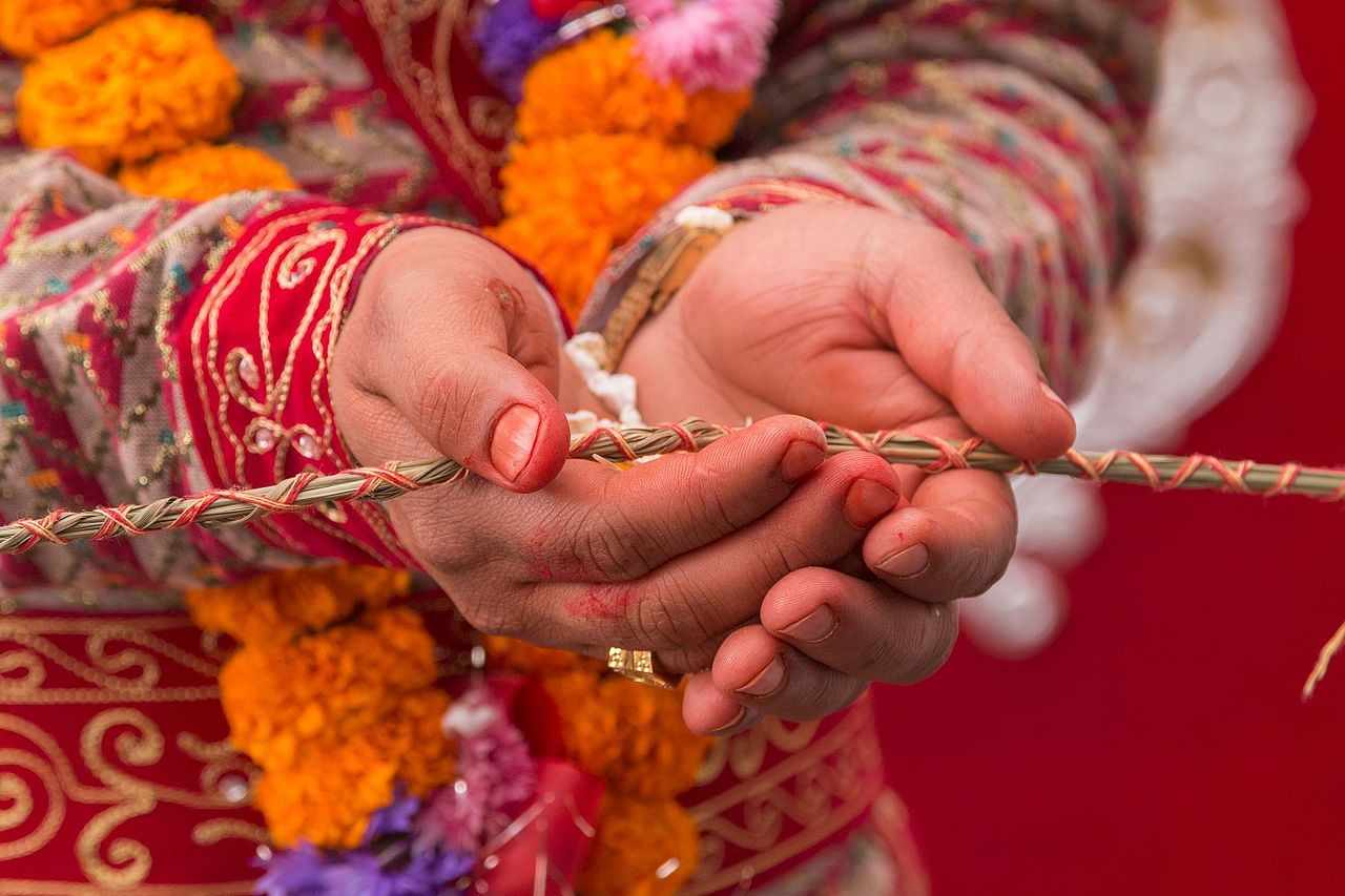 Transgender couple delighted to be first to marry in Nepal