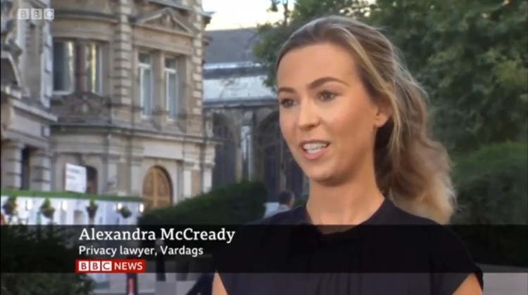 Alex McCready comments on Ben Stokes privacy case on BBC News