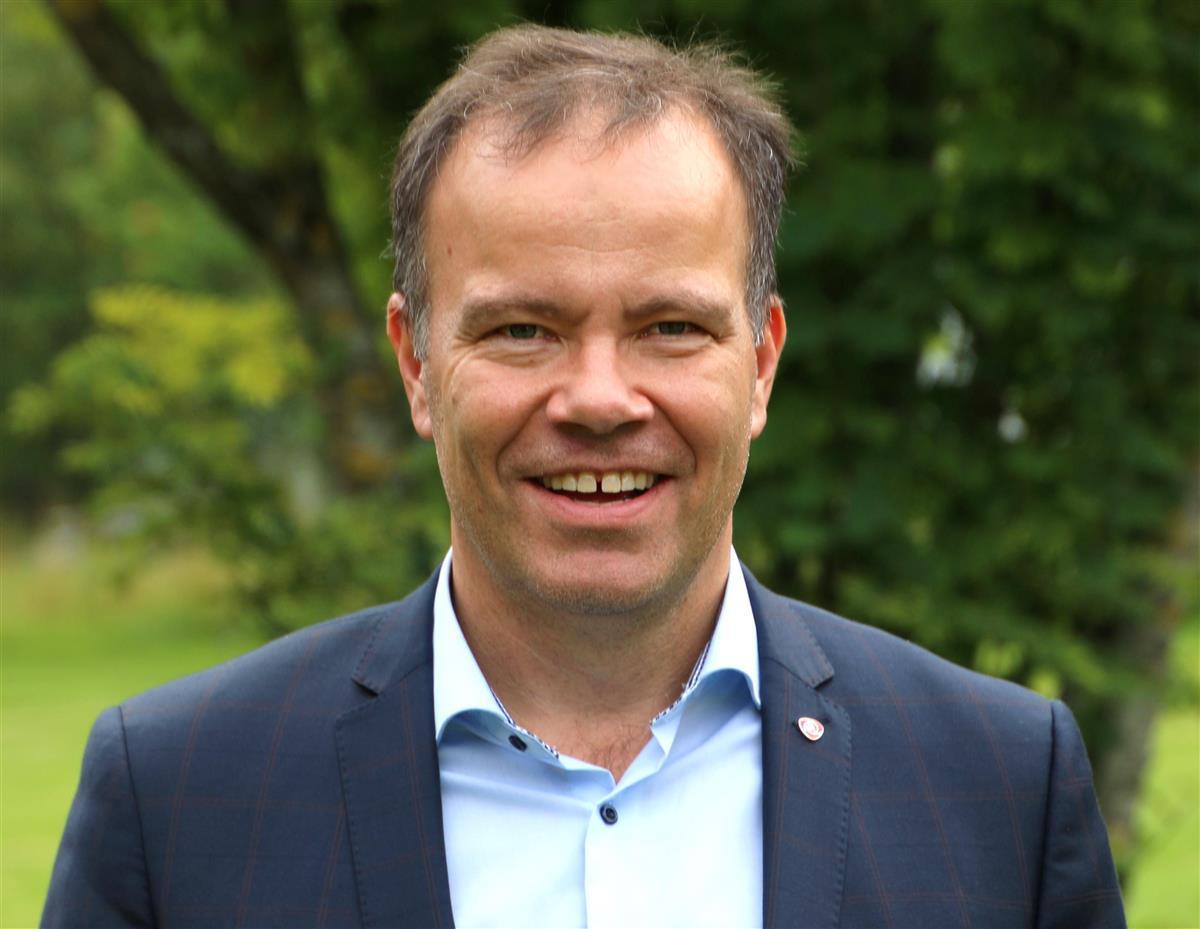 Fylkesrådsleder Tomas Norvoll. Foto: Susanne Forsland