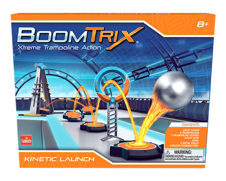 BoomTrix Kinetic Launch