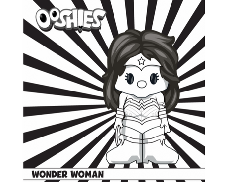 Wonder Woman Colouring Activity