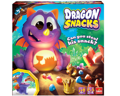 Dragon Snacks game box