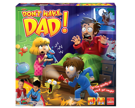 Don't Wake Dad game box