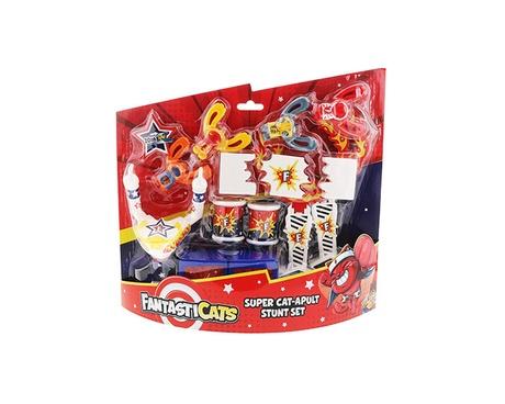 Fantasticats Super Cat-apult Stunt Set box