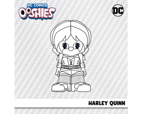 Harley Quinn Colouring Activity