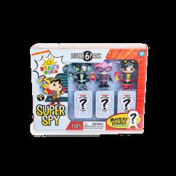Super Spy Figure 6 Pack