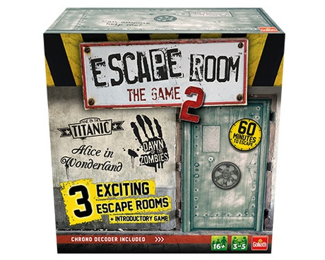 Escape Room 2 game box