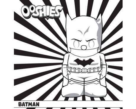 Batman Colouring Activity