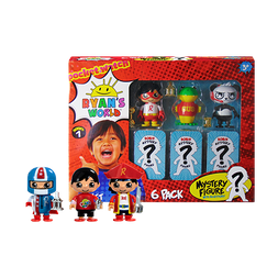 6 Pack Collectible Mystery Figures