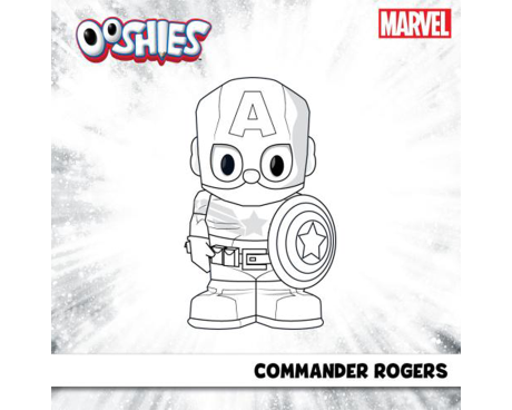 Commander Rogers Colouring Activity