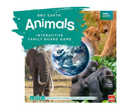 BBC Earth: Animals game
